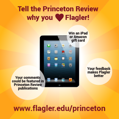 Tell the Princeton Review why you love Flagler! - Image